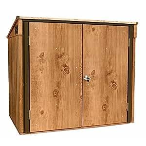 Tepro Garten Mülltonnen Box Stauraum Unterstellung Container Geräte Aufbewahrung