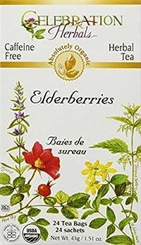 Celebration Herbals Elderberries Herbal Tea -- 24 Tea Bags