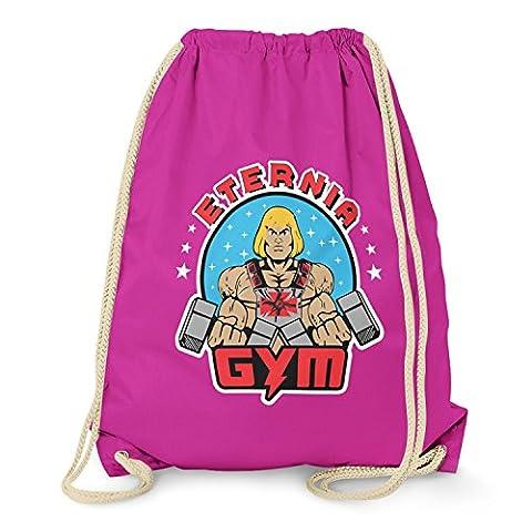 TEXLAB - Eternia Gym - Turnbeutel, fuchsia (He-man-kostüm Für Kinder)