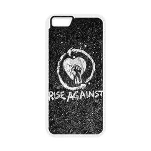 Rise Against Rocher Hardcore Groupe Logo 100351 iPhone 6 Plus 5.5 pouces Cas de téléphone cellulaire coque coque Case blanc de couverture de téléphone portable EEECBCAAL77575