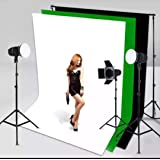 VTS LEKERA Backdrop Photo Light Studio Photography Background Combo for YouTube, Indoor-Outdoor Shooting Purpose (7.8X…
