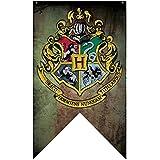 Harry Potter - Bannière drapeau Hogwarts Poudlard