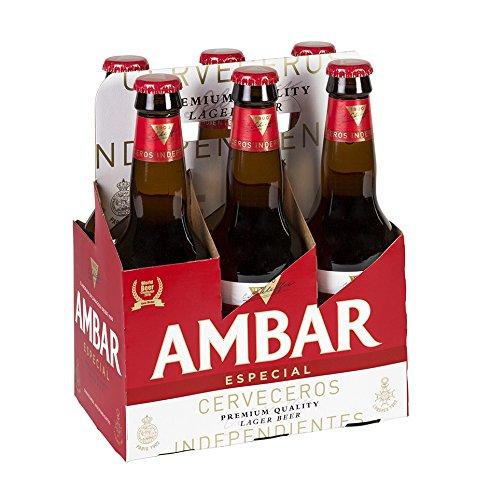 Ambar Especial Celiacos Cerveza - Paquete de 6 x 330 ml - Total: 1980 ml