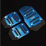 MJHQMIK Rutschfester Autopedalschutz passend für Citroen DS Serie C Quatre C Triomphe Picasso C1 C2 C3 C4 C4L C5 Elysee