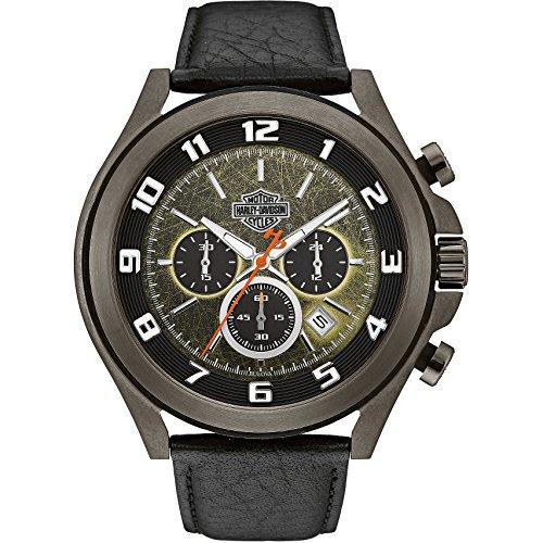 Watch Harley Davidson Man Chronograph Night Rider 78B149