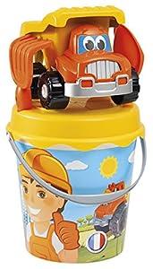 Jouets Ecoiffier-734-Cubo Garni camión Décor TP 21cm