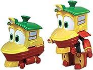 Rocco Giocattoli 21737234 Robot Trains Personaggi Trasformabili( Duck o Sally), Modelli assortiti, 1 Pezzo, 10
