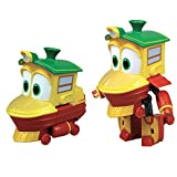 Rocco Jouets 21737234 – Robot Trains personnages transformable, 10 cm