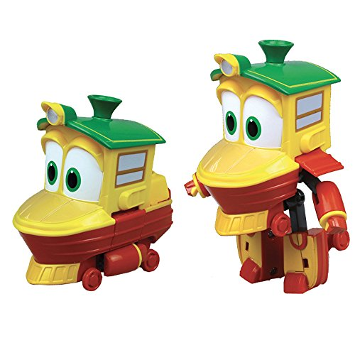 Rocco Jouets 21737234-Robot Trains personnages transformable, 10cm - Modèle aléatoire