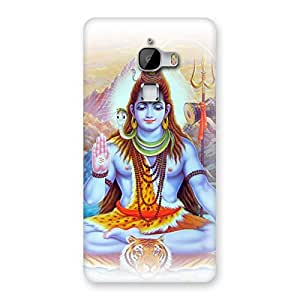 Gorgeous Blessings Of Shiva Back Case Cover for LeTv Le Max