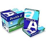 Double A Lot de 5 Ramettes de papier 500 feuilles A4 80 g Extra Blanc