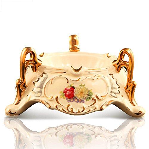 Keramik Aschenbecher Luxus Europäer Hand Gold Kreativ Mode Persönlichkeit Geschenke Ornamente