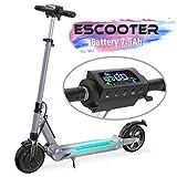 COLORWAY Elektro Scooter E Scooter E Roller Faltbar City Roller Fahrzeug Klappbar 350 Watt Motor | bis 30 km/h | Mit Beleuchtung | 7.5Ah Akku | für Erwachsene