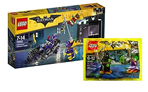 LEGO® Batman Set 70902 - Catwoman: Catcycle-Verfolgungsjagd + 30523 - The Joker Battle Training