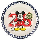Elemed 1321 Umweltfreundlicher Bambus Disney Teller mit Micky Maus, mehrfarbig
