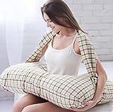 Breast pillow Almohada de amamantamiento para Gemelos Almohada de Lactancia para Lactancia Materna Almohada/Almohadilla de Embarazo, 2
