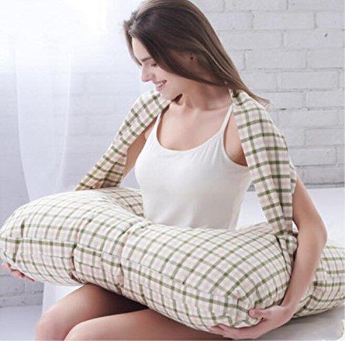 Breast pillow Coussin d'allaitement jumelage Oreillers de Soins pour l'allaitement Maternel Soutien-Gorge Doux Embrayage Oreiller/Coussin, 2