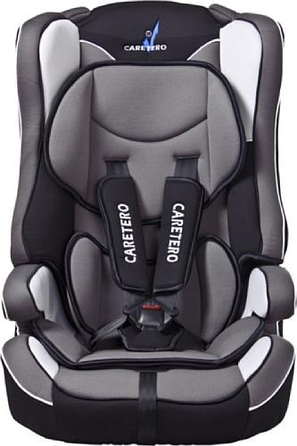 Caretero TERO-281 Siège auto avec ceinture de sécurité 5 points et dossier amovible Pour enfant de 9 à 36 kg