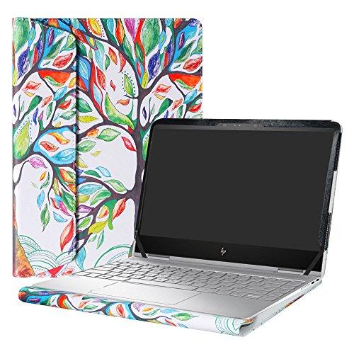 """Alapmk Spécialement Conçu Protection Housses pour 13.3"""" HP Spectre x360 13-wXXX (13-w000 to 13-w999) and 13-acXXX (13-ac000 to 13-ac999,comme 13-ac034nf,etc) Series Ordinateur Portable,Love Tree"""