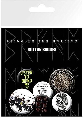 GB eye LTD, Bring me the horizon button badges