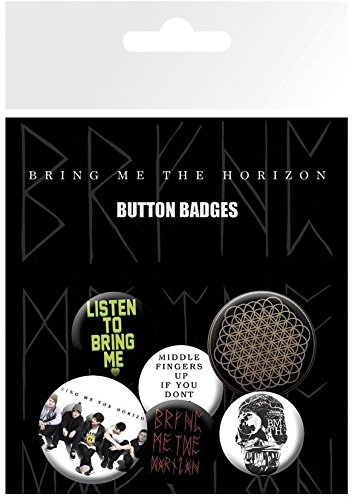 Preisvergleich Produktbild GB Eye Bring Me The Horizon Sempiternal Badge Pack