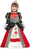 chiber Disfraces Disfraz de Dama de Corazones para Niña (Talla 7)