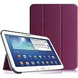 Funda Samsung Galaxy Tab 3 10.1 - Fintie Ultra Slim Smart Funda Case Cover con Stand Función y Imán Incorporado para el Sueño/Estela para Samsung Galaxy Tab 3 10.1 pulgadas P5200 / P5210 (Purpura)