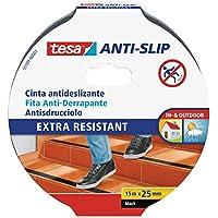 tesa Anti Slip, 15m:25 mm, schwarz
