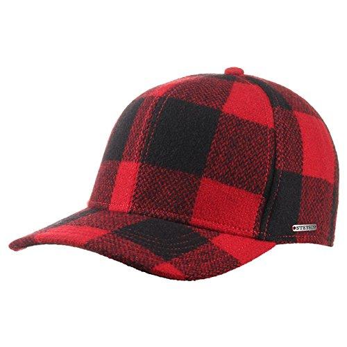 mtze-kappe-campbell-pl-woolrich-cap-stetson-l-58-59-rot