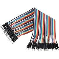 Neuftech® 40pcs 20cm Câbles pour BreadBoard male/male - Arduino masculin jumper Fil Wire