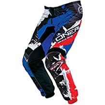 ONeal Element MX Hose SHOCKER Schwarz Rot Blau Motocross Enduro Offroad, 0124S-
