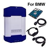 Vxdiag Professionelle OBD-II Diagnosewerkzeuge Scanner für BMW Auto-Diagnose Werkzeug Auto Code Reader wie BMW ICOM A1/A2/A3 Original Software Perform Programmierung und Codierung für alle BMW E/F/G Serie Cars