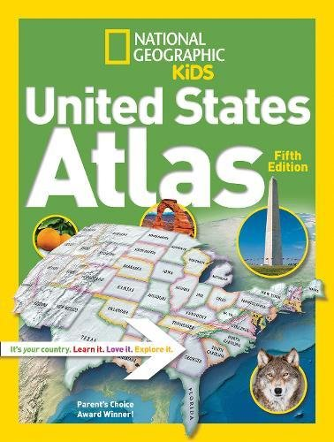 National Geographic Kids United States Atlas (State Atlas)