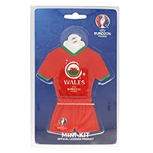 UEFA Euro 2016 – Minitrikot mit Saugnapf – Wales 18 cm