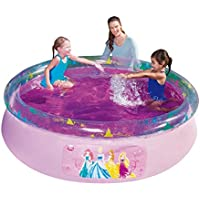 Bestway Disney Princess Fast Set Above Ground Swimming/Paddling Pool - Pink, 1.98x0.51m