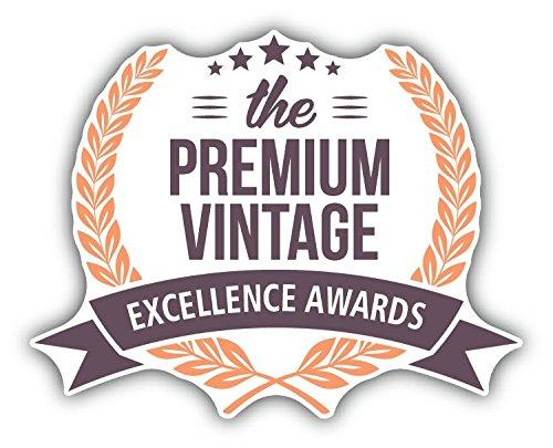 Laurel Wreath Premium Vintage Hochwertigen Auto-Autoaufkleber 12 x 10 cm Vintage Laurel
