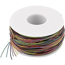 Sourcingmap a13101800ux0531 - Cable de aislamiento de color embalaje, prueba de 8 hilos