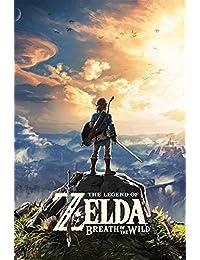 The Legend of Zelda Breath Of The Wild - Sunset Póster multicolor