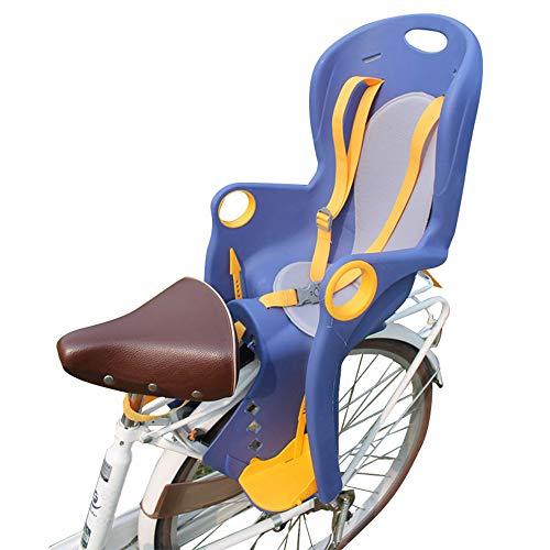 Voolok Leichter Fahrradträgersitz mit atmungsaktivem Kissen und einstellbarem Pedal, sicher und stabil, schnelle Installation für die meisten Fahrräder