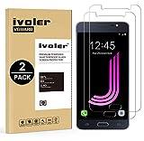 iVoler [Pack de 2] Verre Trempé Compatible avec Samsung Galaxy J7 2016 [Garantie à Vie], Film Protection en Verre trempé écran Protecteur vitre (0,3mm HD Ultra Transparent)