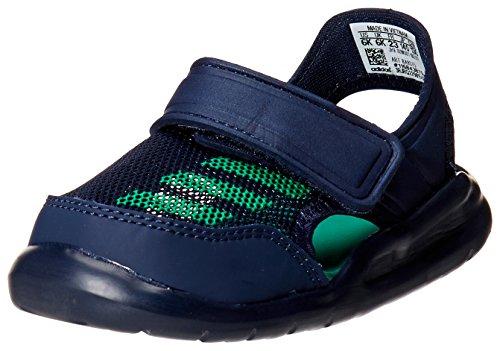 adidas Performance BA9375/BA9380 Forta Swim C Jungen Baby Badeschuh Mesh Klett, Groesse 27, dunkelblau