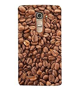 FUSON Coffee Beans Isolated 3D Hard Polycarbonate Designer Back Case Cover for LG G4 Mini :: LG G4c :: LG G4c H525N