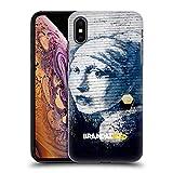 Head Case Designs Offizielle Brandalised Piercing Banksy Kunst Texturierte Ruckseite Hülle für iPhone XS Max