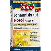 Abtei Johanniskraut Rotöl Kapseln, 30er, 6er Pack (6 x 11 g)