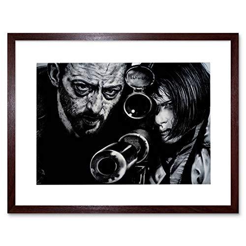 Leon Jean Reno Natalie Portman Maguire Framed Art Print Picture F12X477