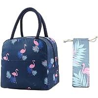 Binoster Sac Isotherme Repas Bureau Lunch Bag Sac à déjeuner Fraîcheur Sac de Transport Repas Pique-Nique pour Femme…