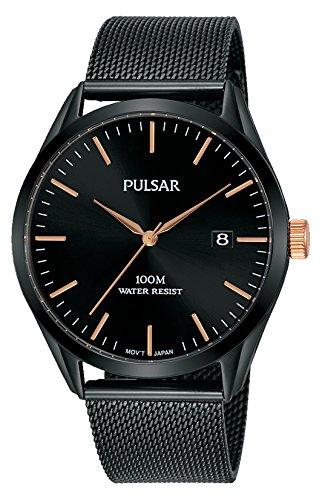 Pulsar Homme Analogique Quartz Montre avec Bracelet en Acier Inoxydable PS9573X1