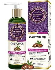 Morpheme Pure Castor Oil ColdPressed For Hair Body Skin Car