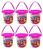#4: Kabello Modelling Multicolored Clay for Kids, 6 Pcs Kids Clay for Play, Multicolored, 50 Grams, Pack of 1