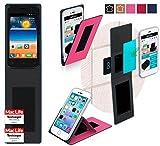 reboon Hülle für Gionee Pioneer P2S Tasche Cover Case Bumper | Pink | Testsieger